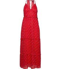 margaux maxi dress maxiklänning festklänning röd superdry