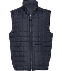 fjord reversible quilted vest - grs vest crème knowledge cotton apparel