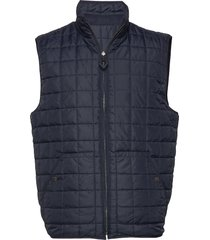 fjord reversible quilted vest - grs vest crème knowledge cotton apparel