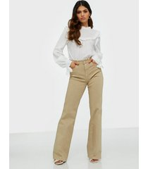 selected femme slfella hw cornstalk bootcut jeans bootcut & flare