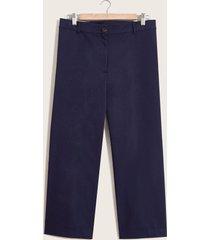 pantalón capri azul 22