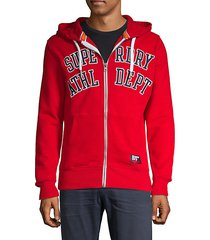 academy athletic department zip hoodie