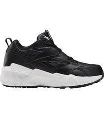 zapatilla negra reebok aztrek double mix