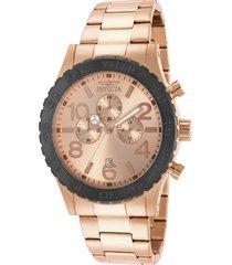 reloj invicta 15161 oro rosa acero inoxidable