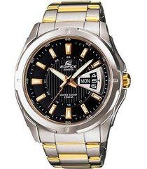 reloj casio ef-129sg-1avdf en acero para hombre