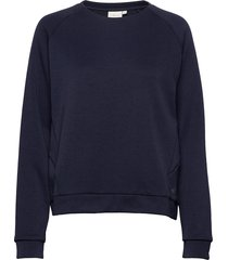 w race raglan sweater sweat-shirt tröja blå sail racing