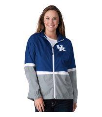 g-iii sports kentucky wildcats women's off season lightweight jacket