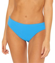 bleu by rod beattie solid ruched-back bikini bottoms women's swimsuit