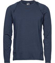 adv essence ls tee m t-shirts long-sleeved blå craft