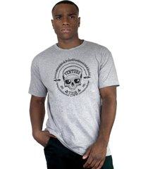 camiseta ventura frank chock cinza - kanui