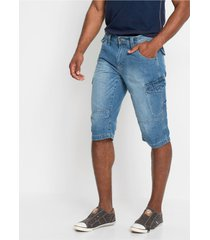 lange jeans bermuda loose fit