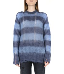 golden goose mohair lined pattern sweater