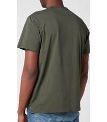 parajumpers men's mojave chest pocket t-shirt - sycamore - l