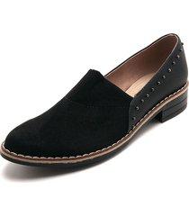 zapato negro moca 7821 vera taches