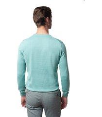 sweter moulin półgolf zielony