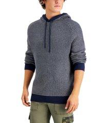 sun + stone men's duo-stitch hoodie