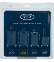 bric's transparent custom cover for 30-inch riccione/capri spinner trunks -
