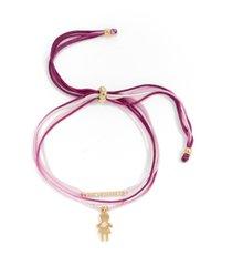 women's nordstrom girl charm friendship bracelet