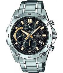 reloj casio efr 557cd 1a9 cronografo  para hombre - negro