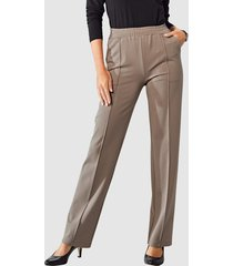 jersey broek paola taupe