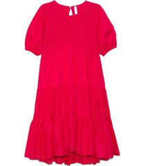 vallarta dress in shocking pink