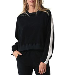 women's electric & rose remy crewneck pullover