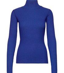 ebo knit top turtleneck coltrui blauw holzweiler