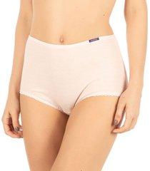 calcinha plus cintura alta rosa cristal | 488.023