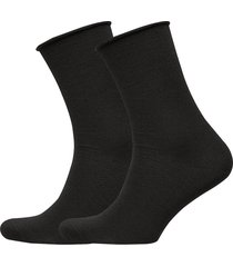 jbs of dk socks wool 2-pack lingerie hosiery socks svart jbs of denmark