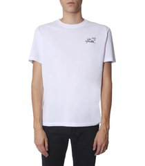 raf simons slim fit t-shirt