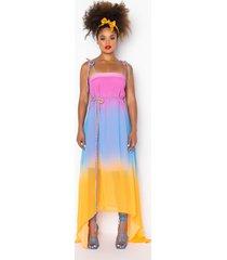 akira sunset love maxi dress