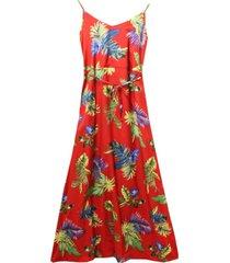 vestido hojas palmeras vino new burdeo jacinta tienda