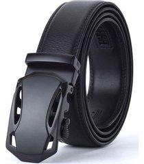 cinturon correa hombres hebilla lujo aleacion 125cm tipo k
