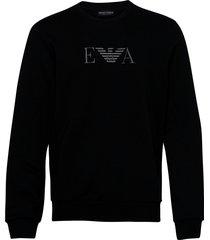 sweater sweat-shirt trui zwart emporio armani