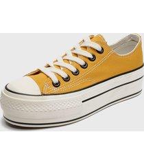 zapatilla amarillo skaters
