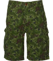 sale - pepe jeans short - slim fit - groen