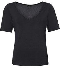 maglia con perle (nero) - bodyflirt