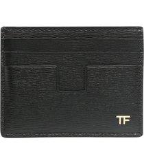 tom ford t line card holder w/central pocket