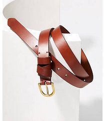 loft criss cross leather belt