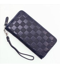men's purse wallet men pu leather long design luxury men wallets with credit car