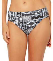 bleu by rod beattie printed foldover hipster bikini bottoms women's swimsuit
