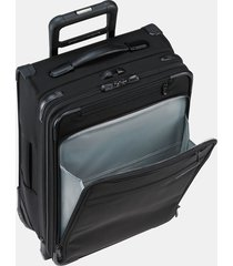 briggs & riley baseline commuter 19-inch expandable rolling carry-on - black