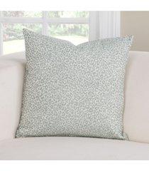 "pologear lana capri animal print 26"" designer euro throw pillow"