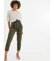 spodnie z wysoką talią oscar