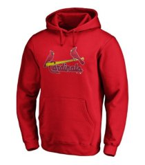 majestic st. louis cardinals men's rookie prime logo hoodie