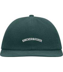 knickerbocker core logo ball cap   green   crel27-grn