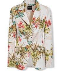 s/s blazer flowers marciano