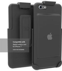 encased belt clip holster for the apple smart battery case (iphone 7) (case not