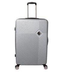 mala de bordo padrão anac em abs santino 19 polegadas