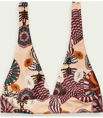 scotch & soda omkeerbare bikinitop van een econyl-mix